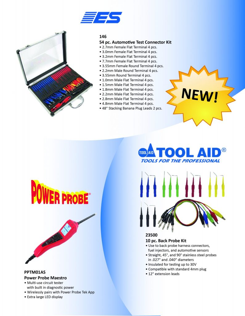 NEW Electronic Specialties, Tool Aid, & Power Probe