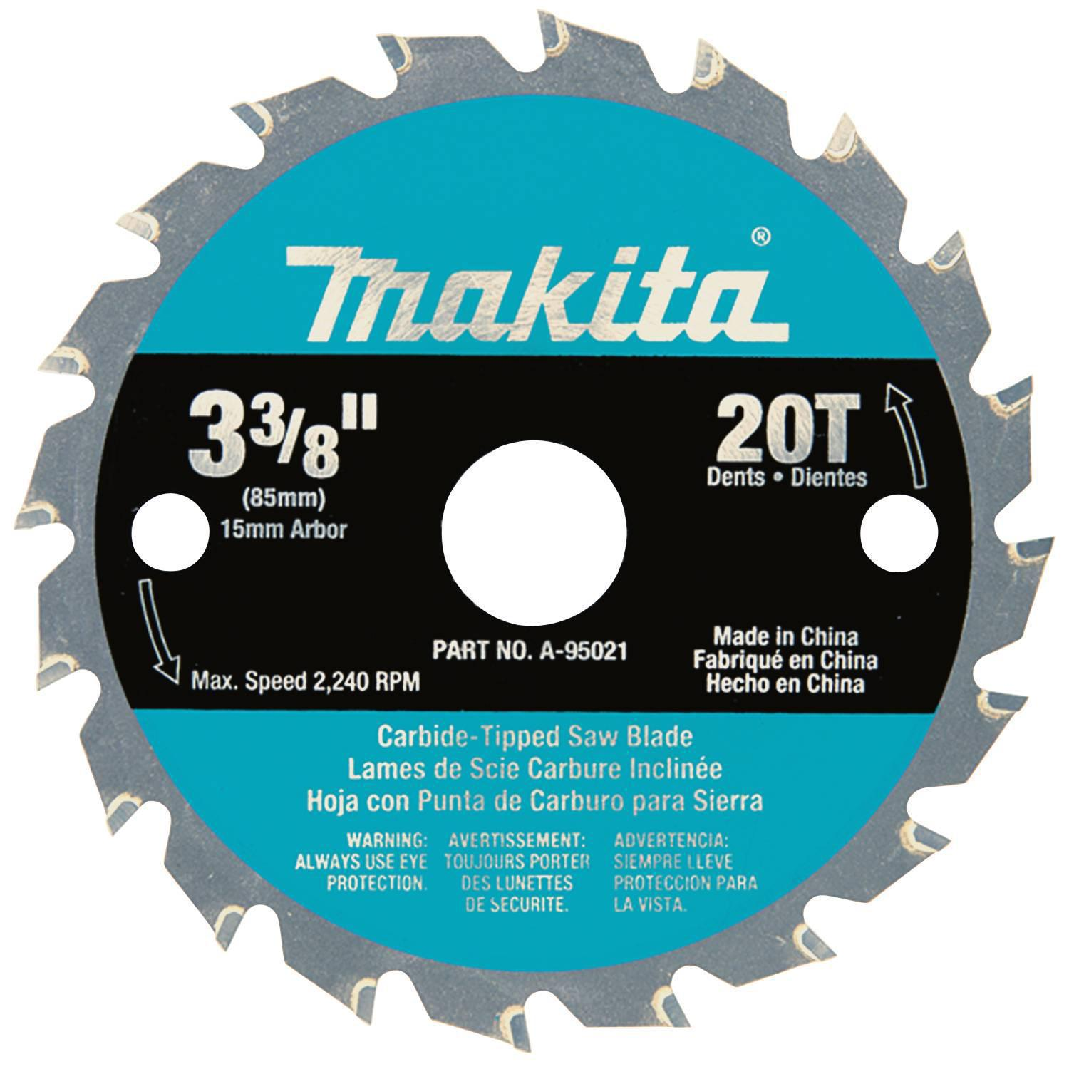 3-3/8″ T.C.T. SAW BLADE