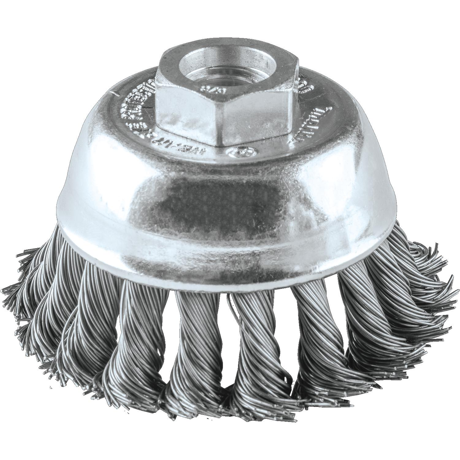 2-3/4″ KNOTTED WIRE CUP BRUSH